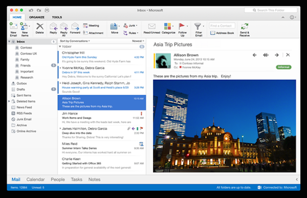 Office 2016 Mac下载