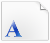 微软繁楷体字体