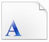 微软繁黑体字体