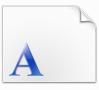 四通利方粗黑体字体