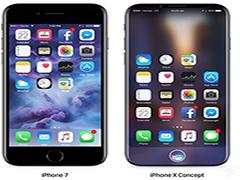 曝苹果iPhone8配曲面屏:弯度不大