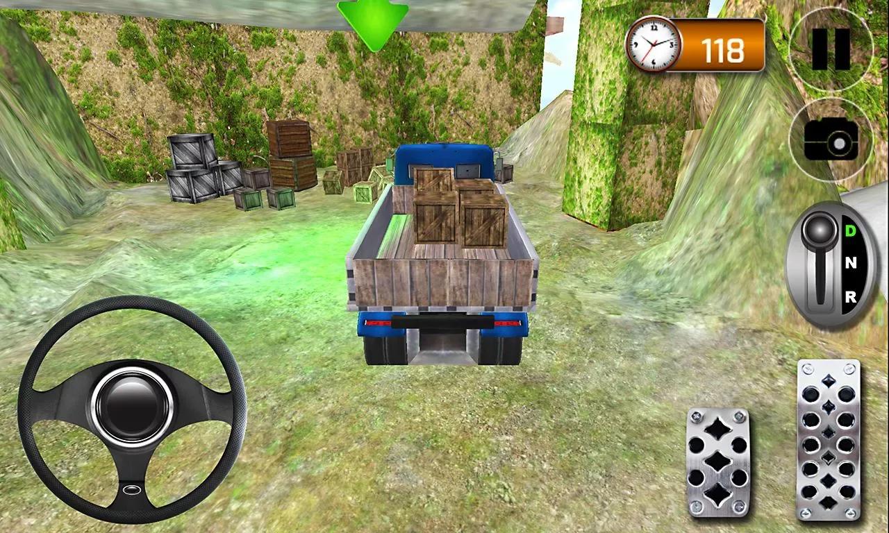 爬坡卡车司机3D
