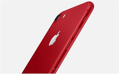 iPhone7红色特别版