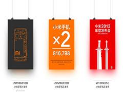 小米6发布在即!小米手机历代海报大回顾