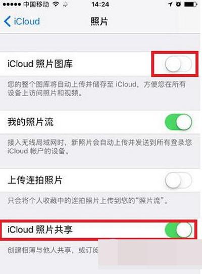苹果照片同一个id共享手机?连苹果手机软件图片