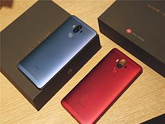 华为Mate9玛瑙红/托帕蓝首发上市:很惊艳