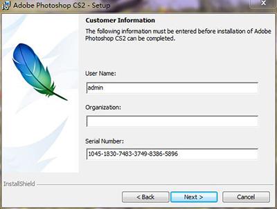 adobephotoshopcs2_photoshop cs2 注册机怎么使用?