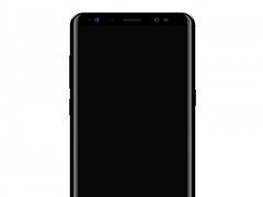 三星Note8正面渲染图曝光:证实Bixby按钮的存在
