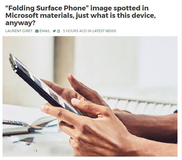 微软Surface Phone