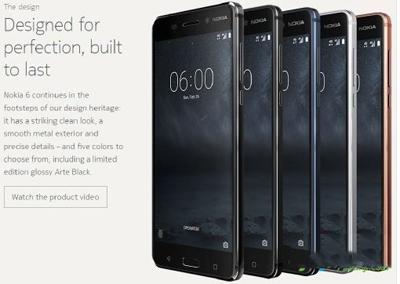 诺基亚6亮黑色版