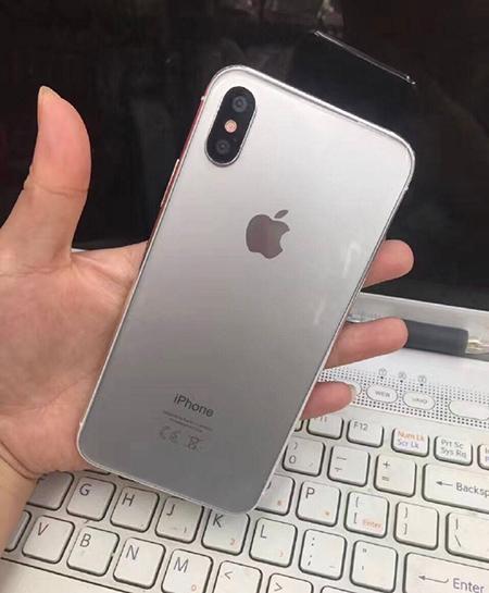 iPhone8银色版样机