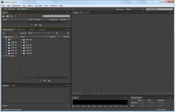 Adobe Audition 音频处理