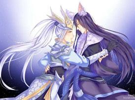 王者荣耀韩信李白cp头像:李白千年之狐和韩信白龙吟基头