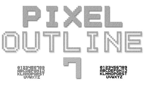 像素字体有哪一些 29款热门像素字体推荐