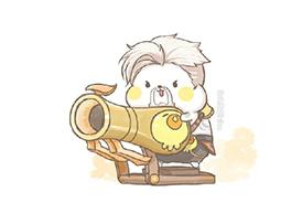 求黄忠卡通图片?王者荣耀黄忠卡通头像图片大全