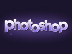 怎么用photoshop做字体?PS制作阴影立体字制作教程