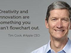 """苹果公司创新乏力?库克回应""""不会急于争第一"""""""