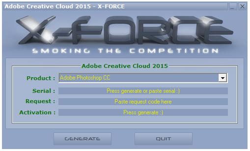 Adobe Photoshop CC2015注册机