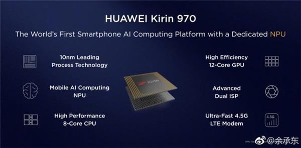 麒麟970处理器