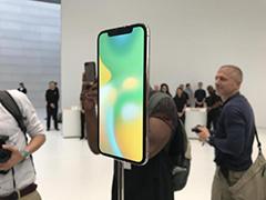iPhone X现场实拍:个性小刘海的全面屏