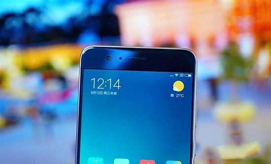 小米Note 3亮蓝版