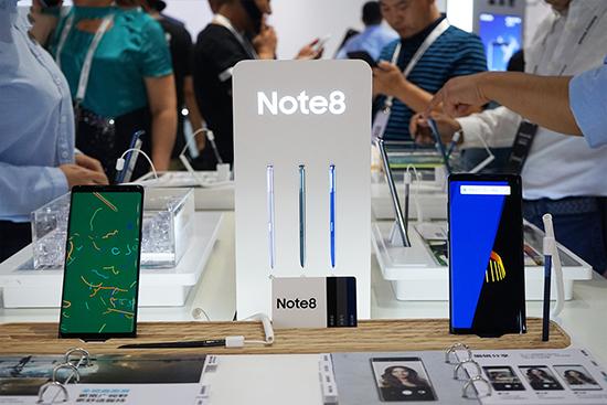 三星Note8现场发布会