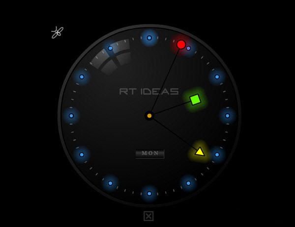 xp动态时钟屏保下载_夜光时钟屏保绿色版1.0_时钟屏保下载_桌面工具_下载之家
