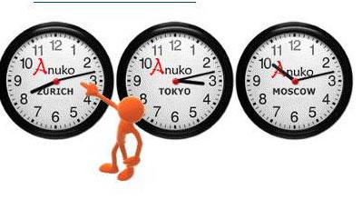 世界时钟下载 Anuko World Clock中文版 世界时钟6.0官方下载 桌面工图片