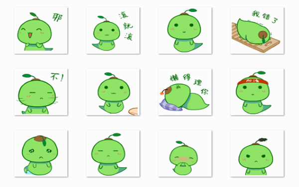 豆芽菜微信表情包图片