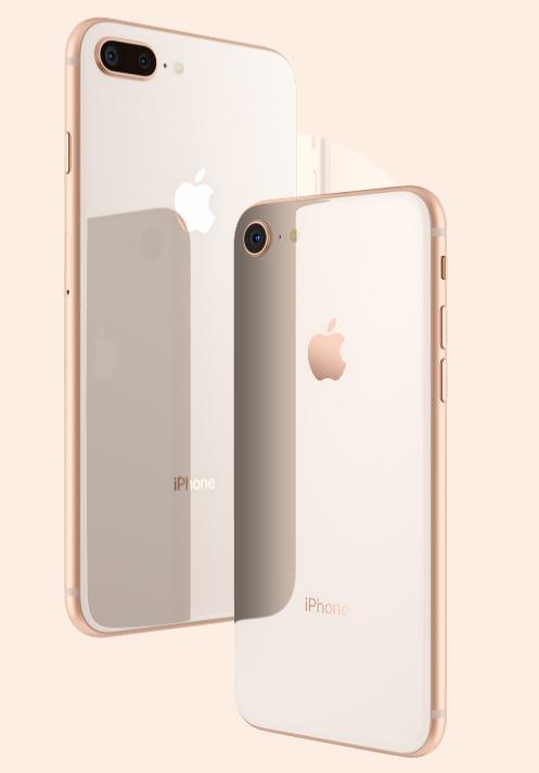 iPhone8/plus和iPhoneX