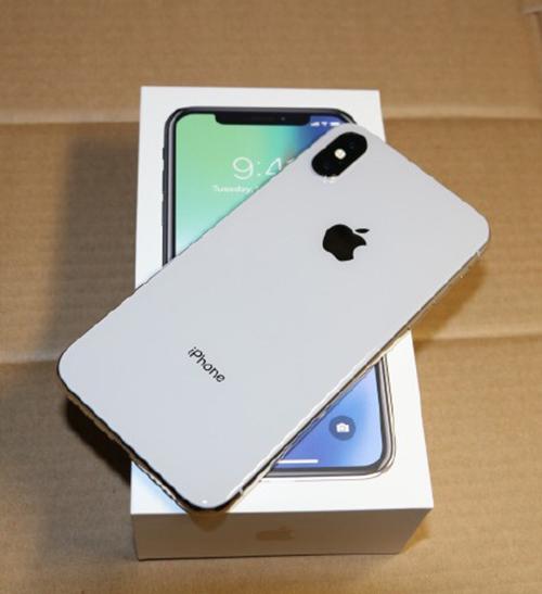 iphonex银色图赏