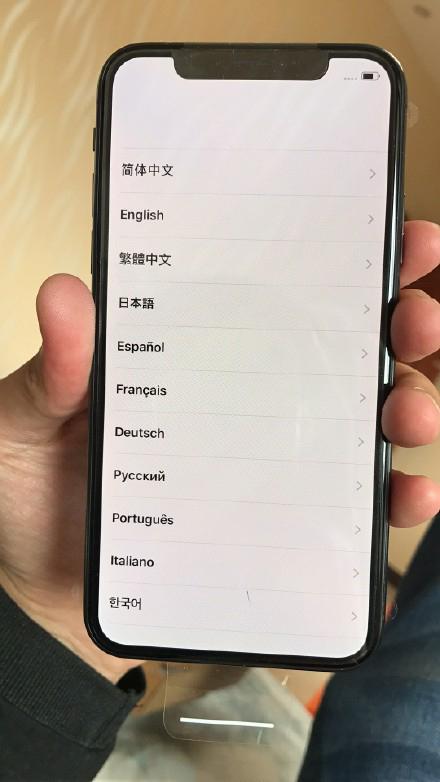 iphonex深灰色图赏