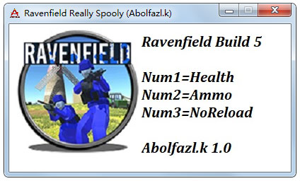 掠夺之地三项修改器(Ravenfield Really Spooly) V1.0 绿色版