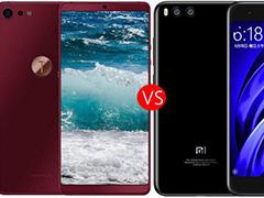 小米6与坚果Pro2买哪款?小米6与坚果Pro2区别对比