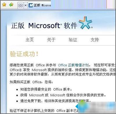 Office2007激活验证破解补丁 1.2 绿色版