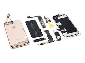 iPhone8 Plus做工怎么样?iPhone8Plus拆机图解