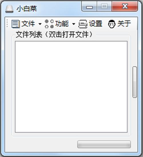U盘小白菜 V1.0 绿色版
