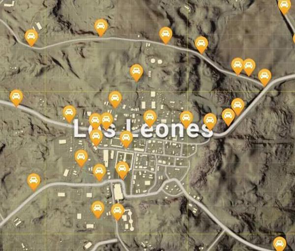 绝地求生沙漠地图资源点