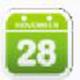 深蓝考研高考倒计时器 V1.0 绿色版