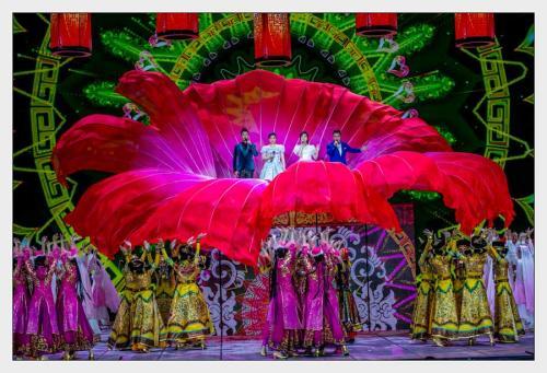 春节看联欢晚会