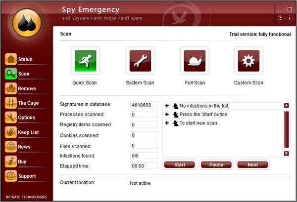 SpyEmergency