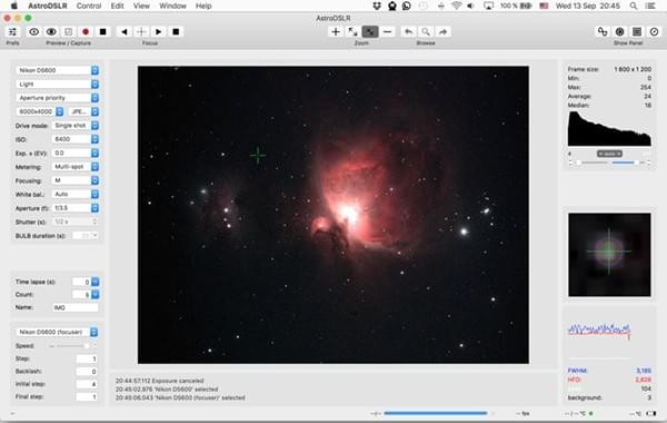 AstroDSLR Mac版