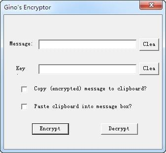 文件加密软件(Ginos Encryptor)