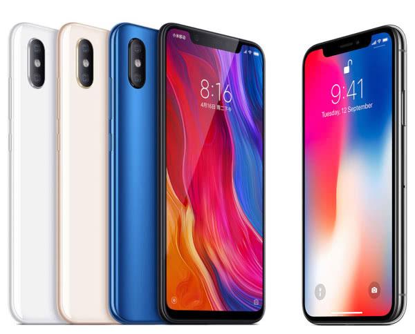 外媒称小米8Copy了苹果,那么小米8和iPhoneX谁更好?