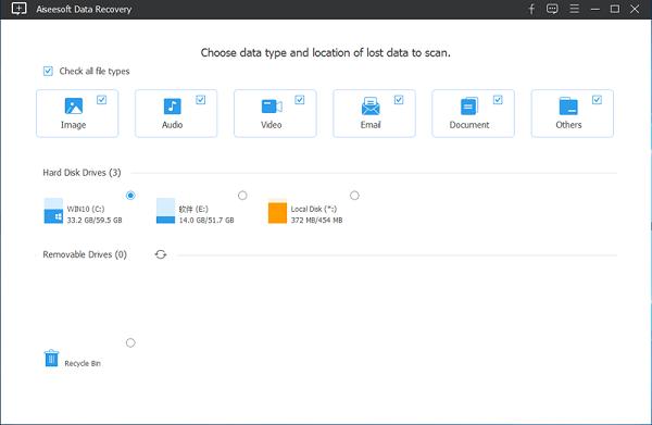Aiseesoft Data Recovery(数据恢复软件) V1.1.6 免费版