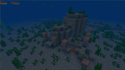 《我的世界》全新海底遗迹