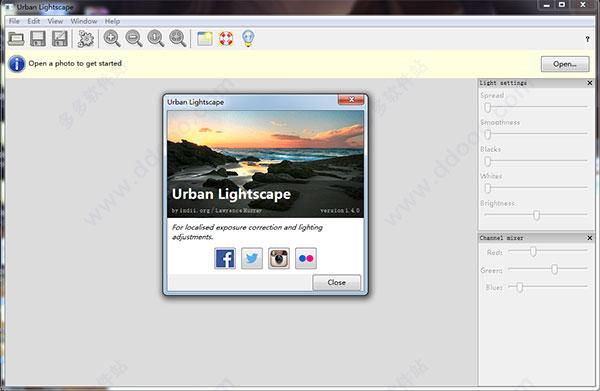 Urban Lightscape(照片曝光校正工具)