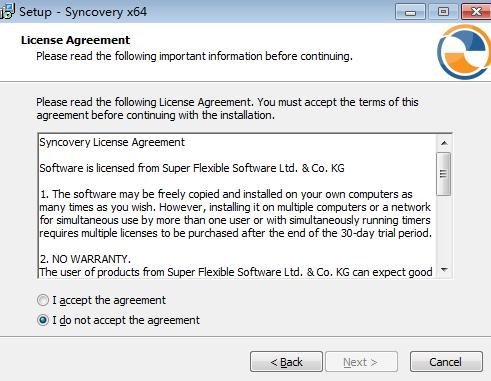 自动备份同步工具(Syncovery Pro)安装向导
