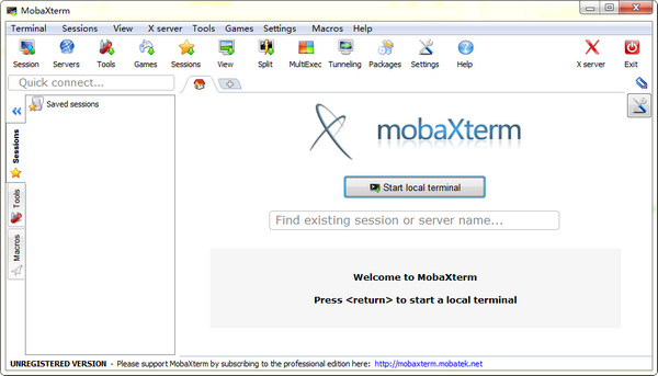 MobaXterm(远程连接软件)