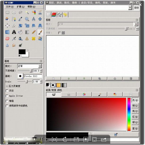 The GIMP (图象制作)